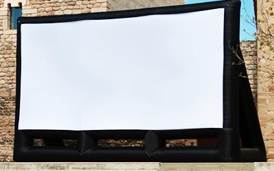 Cine de verano con pantallas y proyectores de masqueproyectores2