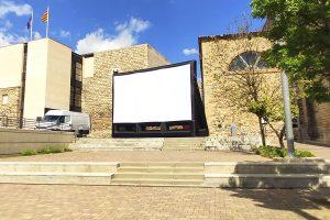Cine al aire libre en época de Covid